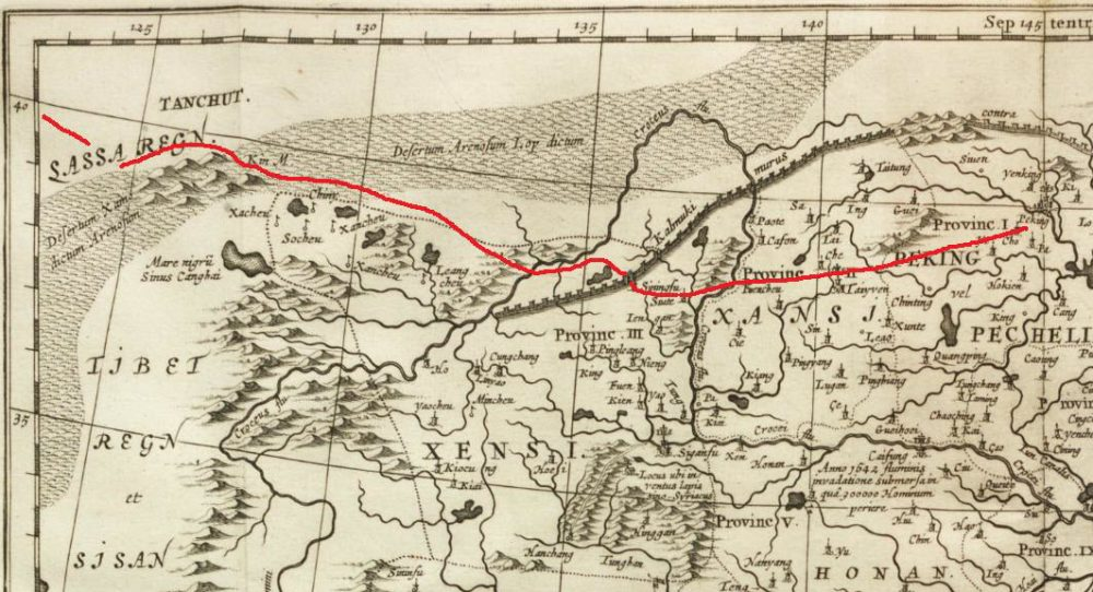 Kircher's-Map-Route