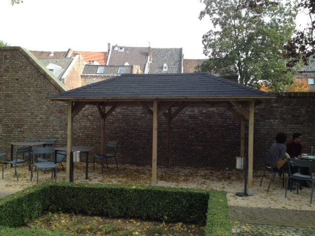 Covered Smoking Area : New service covered smoking area online library