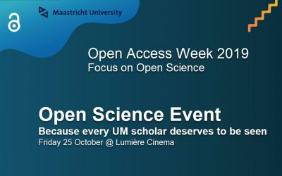 UM Open Science event