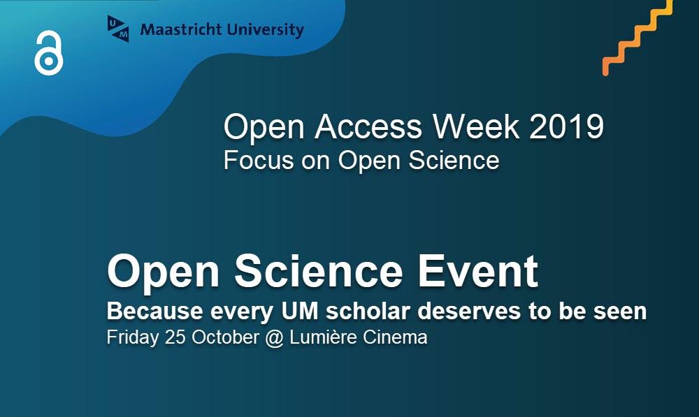UM Open Science event