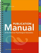 Publication manual of the American Psychological Association (7th edition)
