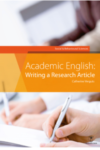 Academic English: writing a research article. Social and behavioural sciences