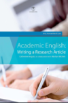 Academic English: writing a research article. Arts, humanities and law