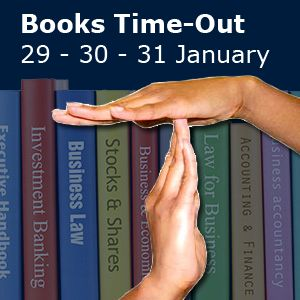 29 through 31 January: Books Time-out