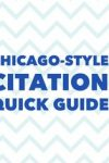 Chicago-Style Citation Quick Guide