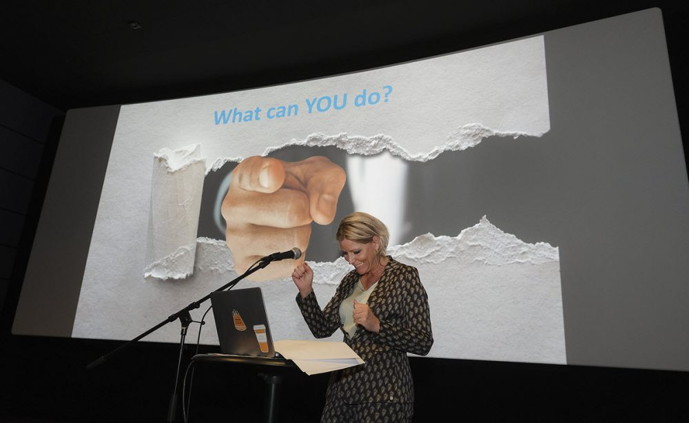 Rianne Letschert at UM OS event - what can you do