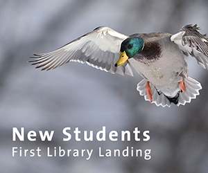 Library information for new students