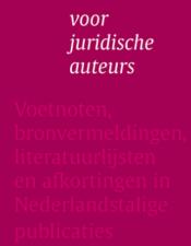 Leidraad voor juridische auteurs 2019