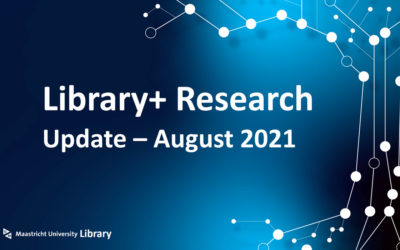 Library+ Research update – August 2021