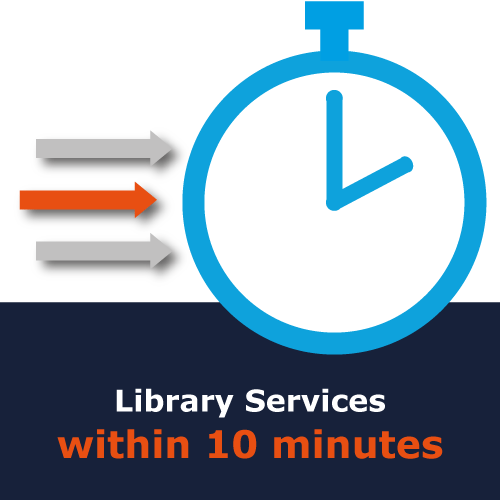 New for UM employees: activate your library account within 10 minutes