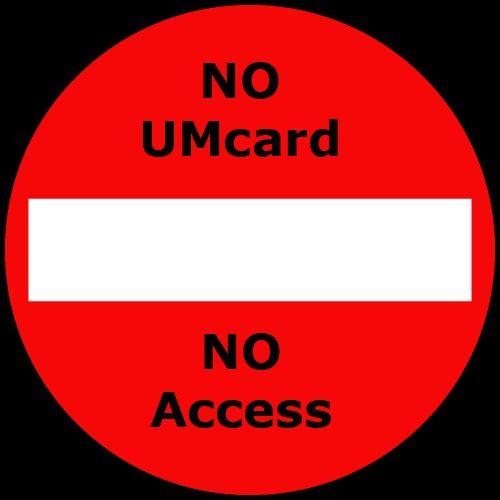 No UMcard > No access at Inner City Library