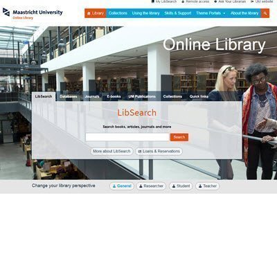 Online Library highlight – a renewed databases section