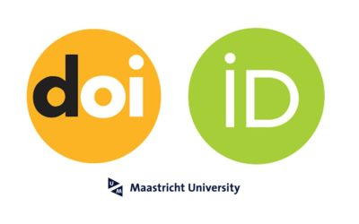Persistent identifiers DOI and ORCID
