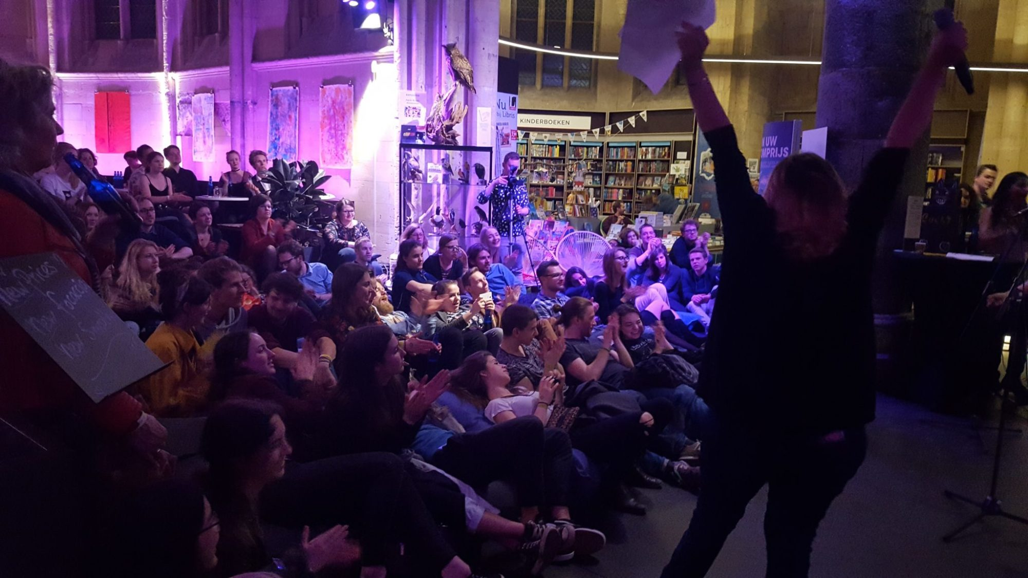 Spoken Word 2018 during Museumnacht Maastricht