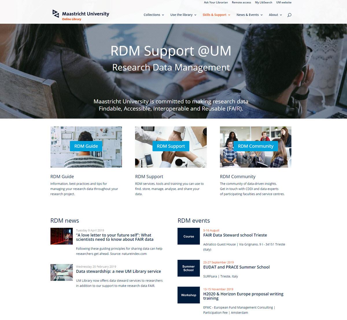 RDM portal