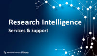 Research Intelligence services and support UM