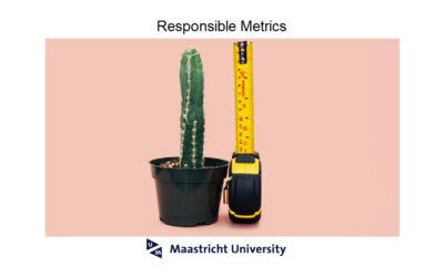Responsible metrics
