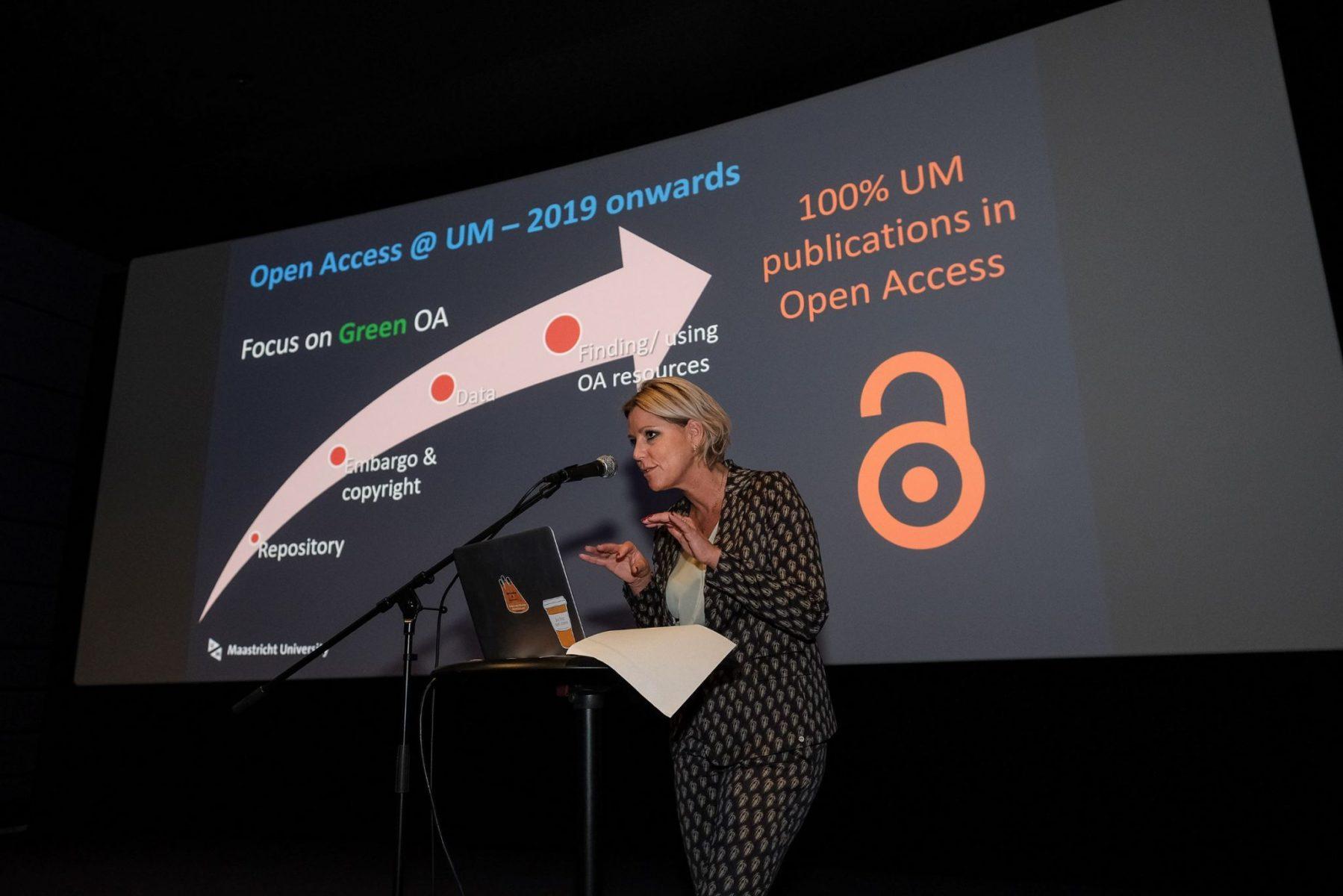 Rianne Letschert - Green Open Access - UM OS Event 2019 3