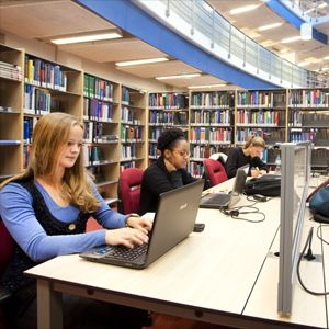 30 new study places in the Randwyck Library