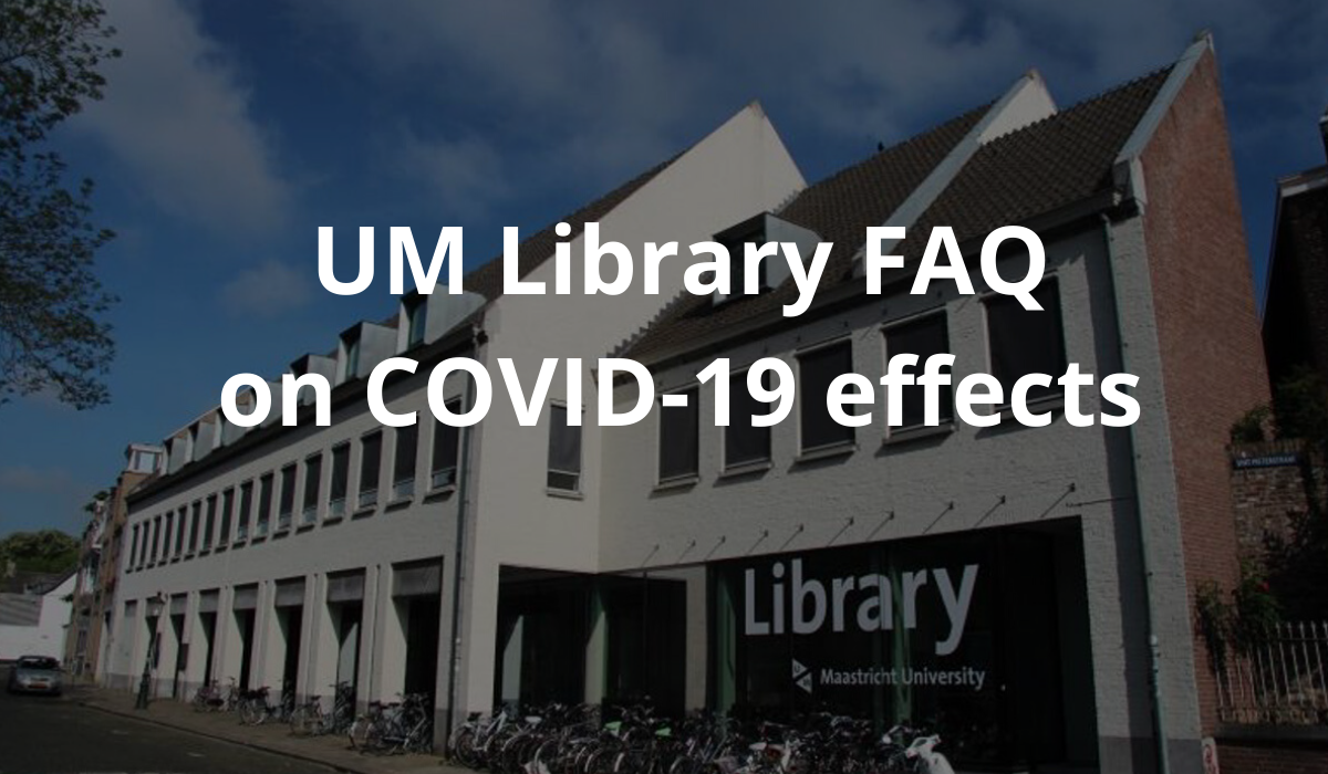 UM Library FAQ on COVID-19 effects
