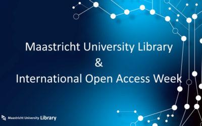 Maastricht University Library celebrates International Open Access Week 2021