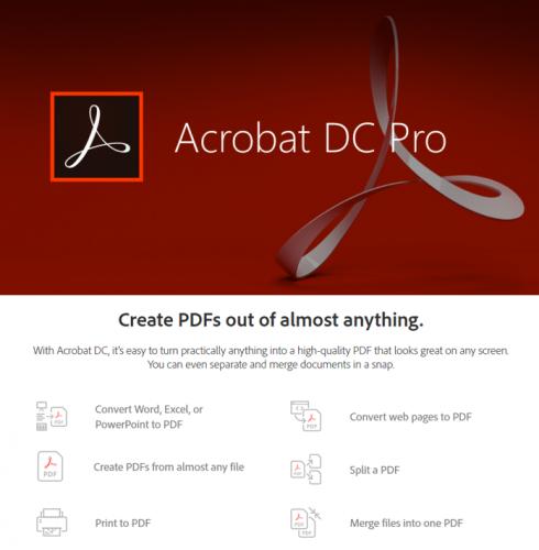 Pro adobe acrobat Adobe Acrobat