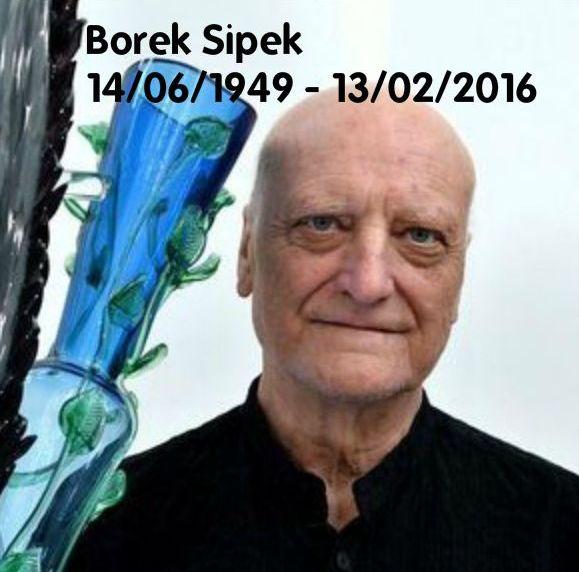13 February 2016: Czech designer Borek Sipek died