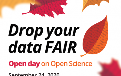 Open Day on Open Science: Drop your data FAIR