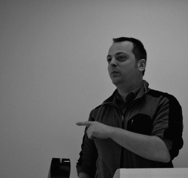Egon Willighagen, assistant professor BIGCat/FHML