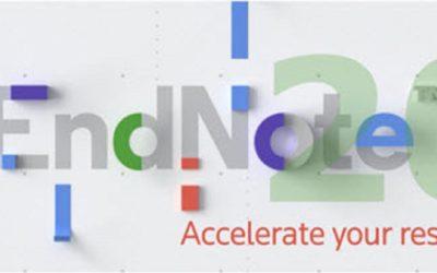 Lancering van nieuwe EndNote 20 versie