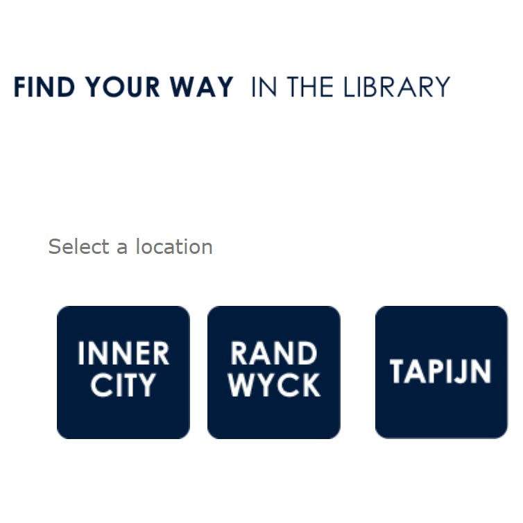 Find your way in the library