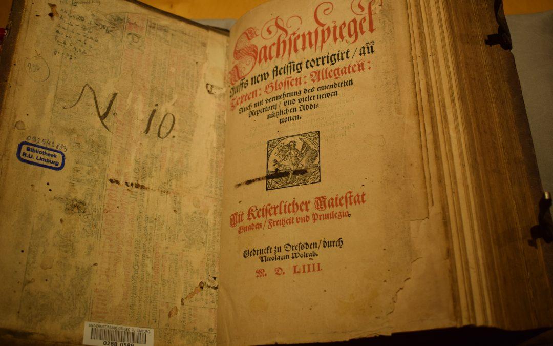 Expositie Rechtsgeschiedenis ter ere van Louis Berkvens