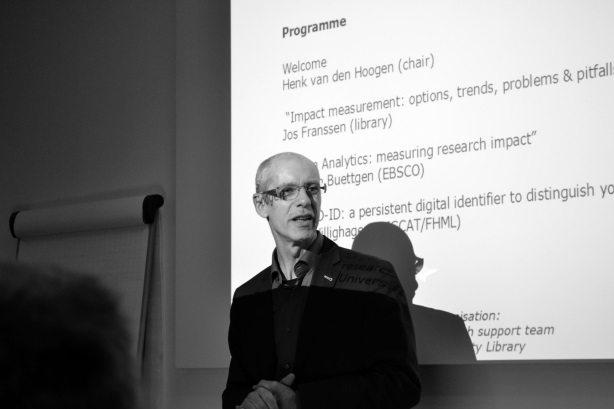 Henk van de Hoogen, chairman