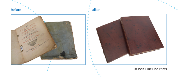 before and after restauration