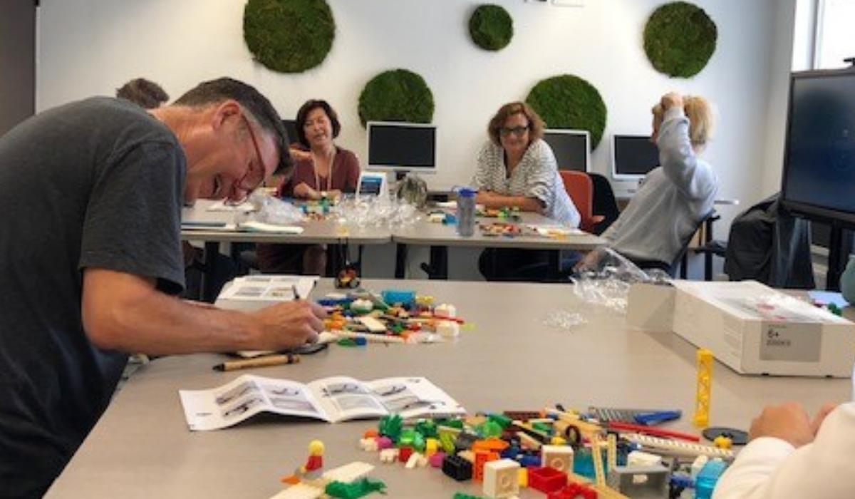 participants lego workshop