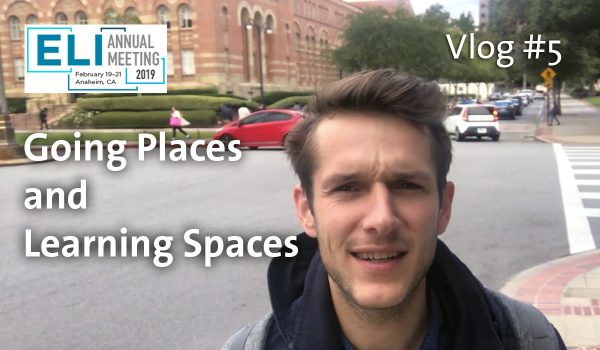 Library Vlog #5: Going Places and Learning Spaces