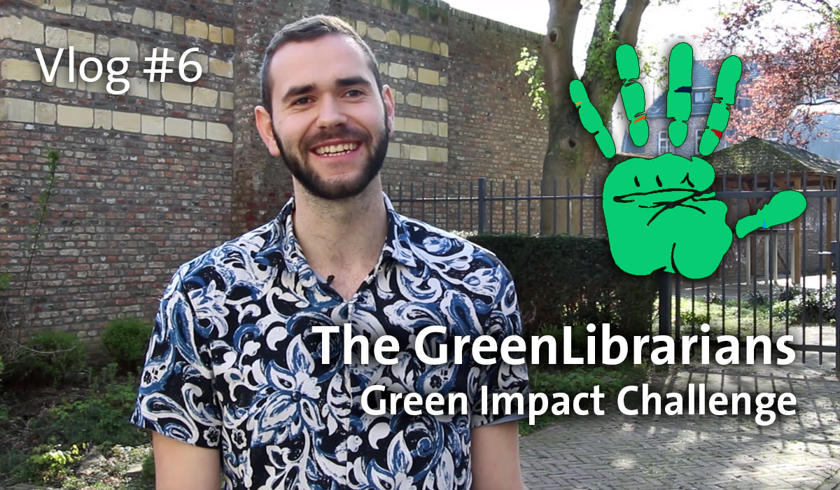Library Vlog #6: The GreenLibrarians