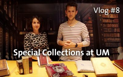 Library Vlog #8: Special Collections at UM