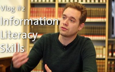 Library Vlog #2: Information Literacy Skills