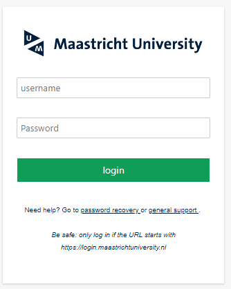 Library Access - login