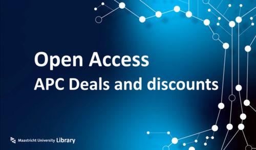 open access apc deals and discounts UM MUMC