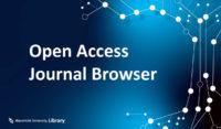 Open Access Journal Browser