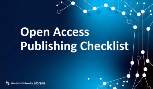 open-access-publishing-checklist