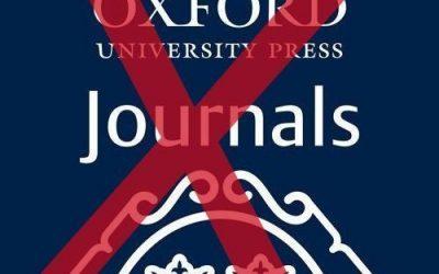 No agreement between VSNU and Oxford University Press