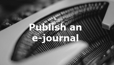 Publish your own electronic journal