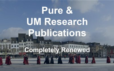 Pure & UM Research Publications completely renewed