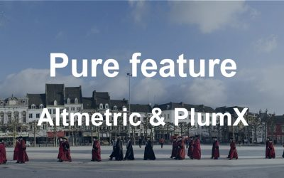Pure feature: discover attention for your publications with altmetrics