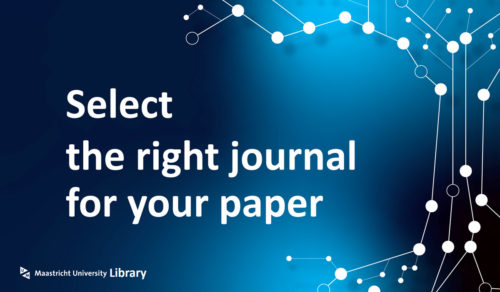 select the right journal for your paper - UM Library