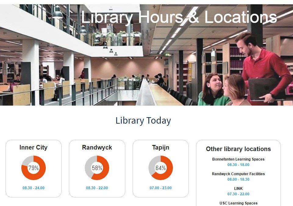 Library Crowd Tracker update