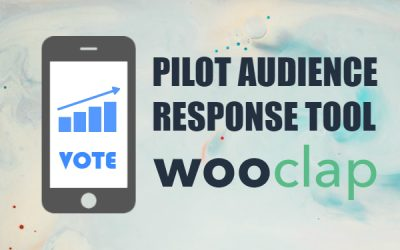 Wooclap Pilot: A new live voting/audience response tool